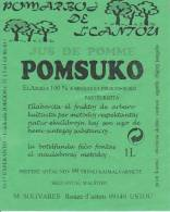 (RE) Sticker Esperanto Apple Juice - Pomsuko - Fruit En Groenten