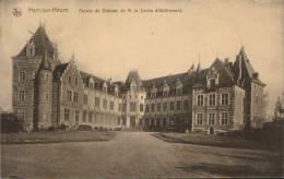 Belgique-Carte Postale-Ham Sur Heure-Facade Du Chateau De M. Le Comte D'Oultremont-nouveau ,2/ Scans - Ham-sur-Heure-Nalinnes