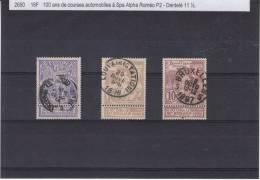 Exposition De Bruxelles - Belgique -  COB 71 / 73 Oblitérés - Valeur 5,50 Euros - 1894-1896 Exhibitions