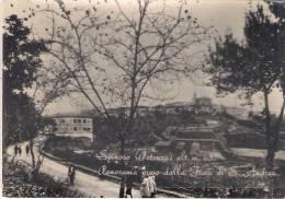 Potenza - Spinoso (Potenza) m. 657 - Panorama preso dalla Fiera di S. Andrea