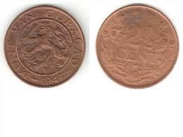 *curacao 2,5 Cents 1947  Xf+ !!!! - Curaçao