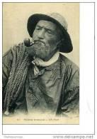 Pecheur  NORMAND ND N °63   VERS 1910/20 FUMEUR DE PIPIE - Pesca