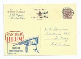 Publibel Nummer 2162, Van Der Heem Elektrische Boormachines - Entiers Postaux
