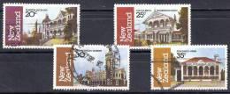 New Zealand 1982 Architecture Set Of 4 Used - - New Zealand