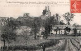 24 RUINES DE L'ANCIEN CHATEAU DE GURSON CIRCULEE 1919 - France