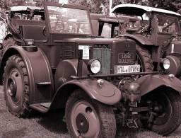 @@@ MAGNET - Lanz Bulldog Tractor - Publicitaires