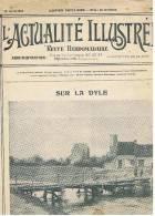L'ACTUALITE ILLUSTREE     SUR LA DYLE   (BELGIQUE)    1915 - 1914-18