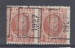 """BELGIE - Preo Nr 3908 A - """"BRASSCHAET 1927"""" (ref. 2699) - ROLLER PRECANCELS - Handrol Preo´s Roulette - Préoblitérés"""