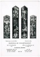 Koekelberg, Kerkraam van de H Hartsbasiliek, Marcelllin Champagnat (pk9127)