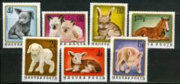 HUNGARY - 1974.Young Animals Cpl.Set  Mi:3007-3013. MNH!!! 4.00EUR - Ungheria