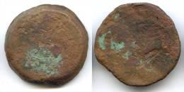 Grand Bronze De Ptolémée IV D´Egypte, AE 37 , 53,26g - Greche