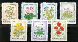 HUNGARY - 1973. Flowers Cpl.Set  Mi:2887-2893. MNH!!! 4.50EUR - Ungheria
