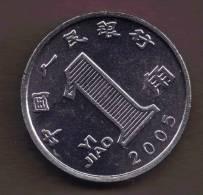 CHINA 1 JIAO 2005 KM# 1210b - Chine
