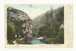 Cp, Angleterre, Lion Rock, Dovedale, Voyagée 1903 - Derbyshire