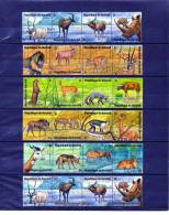 BURUNDI - ANIMAUX: Lot De 40 Timbres - Timbres