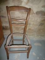 Chaise De Nourice Ancienne En Frêne - Meubels
