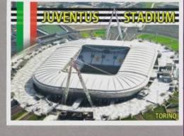 CARTOLINA JUVENTUS STADIUM DI TORINO ANNULLO FDC 2012 - Football