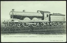 """N. Eastern Railway  Atlantic Type Express Engine No.649"",  C1910. - Trains"
