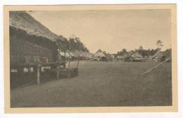 South Pacific, 30-40s  Elevated Village - Postcards