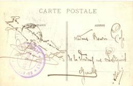 CPA Guerre 14-18 - WW1 - Cachet 84 ème Régiment Artillerie - Guerre De 1914-18