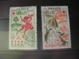 TIMBRE OBLITERE   YVERT N° 1860.1861 - France