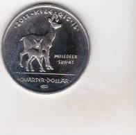 Sovereign Nation Los Coyotes Indians 25 Cents 2011 ,uncirculated - Autres – Amérique