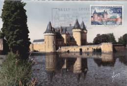 Carte Maximum FRANCE N°Yvert 1313 (Château De SULLY) Obl Sp FLAMME Ill  (Ed Yvon 621) - Cartes-Maximum