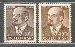 Neuf ** 683-684 LENINE - Unused Stamps