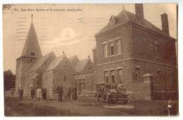 E1298 - Eglise Millénaire De Roloux - Les Deux Eglises Et Le Nouveau Presbytère - Fexhe-le-Haut-Clocher