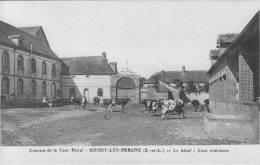 CPA - 28 - Eur Et Loir - Boissy-lès-Perche - Couvent Convent Cour Pétral - Bétail - Animated - VG Condition - France