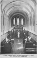 CPA - 28 - Eur Et Loir - Boissy-lès-Perche - Couvent Cour Pétral - Église Vue De La Tribune - État TB - France