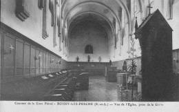 CPA - 28 - Eur Et Loir - Boissy-lès-Perche - Couvent Cour Pétral - Église Vue De La Grille - État TB - France