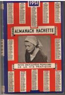 ALMANACH HACHETTE 1951   - Petite Encyclopédie  Populaire De La Vie Pratique - Bricolage / Technique