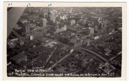 PARTIAL VEW OF MEDELLIN - COLOMBIA - VISTA DESDE UN AVION DE LA AVIANCA - 1951 - Vedi Retro - Formato Piccolo - Colombia