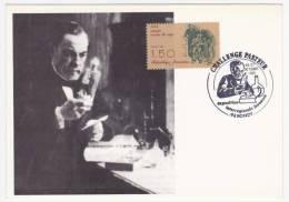 FRANCE - Carte Maximum - 1,50F Vaccin Contre La Rage - Challenge Pasteur 1985 Bondy - 1980-89