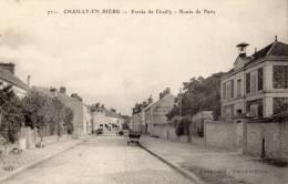 CHAILLY-EN-BIERE ENTREE DE CHAILLY ROUTE DE PARIS - Francia
