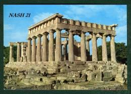 - CPM - Carte Postale - Grece - Egine - Le Temple D' Aphea - - Greece