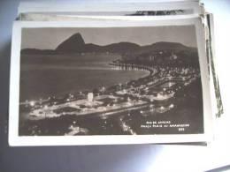 Brazilië Brasil Brasilia Rio De Janeiro By Evening Praca Paris - Rio De Janeiro
