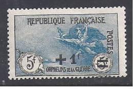 ORPHELINS -  N°  169a *  - Cote : 220 Euros - Neufs
