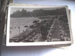 Brazilië Brasil Brasilia Rio De Janeiro Ipanema Old Cars Beach - Rio De Janeiro