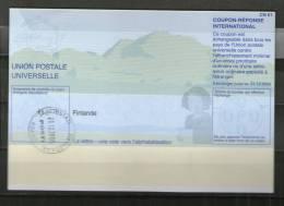 2376 IRC IAS CRI - International Reply Coupon - Antwortschein T31 Gestempelt Finlande Finnland FI20021213AG - Finnland