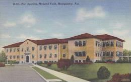 Alabama Montgomery Maxwell Field Post Hospital