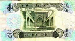 IRAQ 1/4 Dinar 1979 occasion TTB