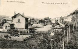 CPA - 63 - Vallée De LA MIOUZE Et La Gare - Très Léger Pli à Droite - 343 - France