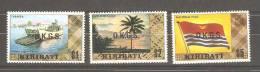 Kiribati 1981 Officials Set 15 MNH - Kiribati (1979-...)