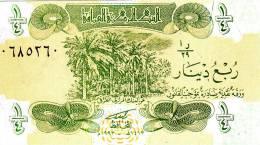 IRAQ 1/4 Dinar 1993 Neuf