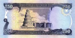 IRAQ 250 Dinars 2003 Neuf