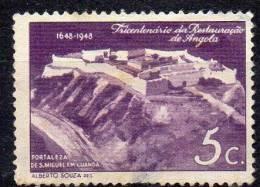 ANGOLA 1948 Sao Miguel Fotress, Luanda 5c   FU - Angola