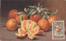 Carte Maximum  Foire Exposition Les Fruits 18.06.1950 - Algeria (1924-1962)