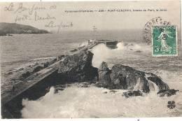 PORT VENDRES Entrée Du Port La Jetée TTB